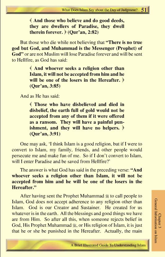 judgment day islam. Page 51 - What Does Islam Say