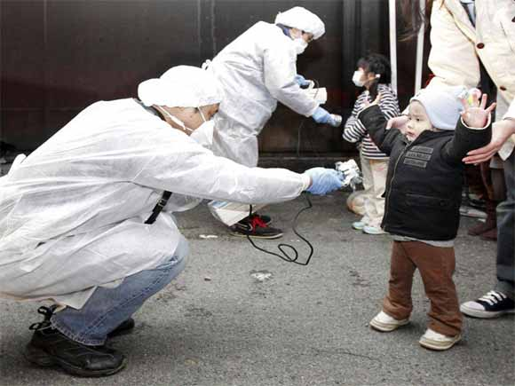 kids radiation japan