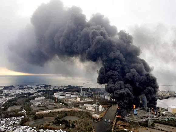 huge fire japan